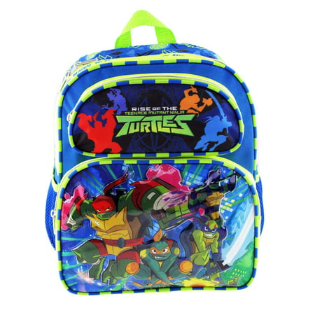 Small Backpack - Teenage Mutant Ninja Turtles - Rise of the TMNT 08765 - Ninja Turtle Bookbag