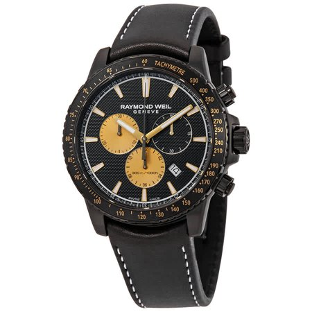 Weil Sweet - Raymond Weil Tango Marshall Amplification Black Chronograph Dial Mens Limited Edition Watch 8570-BKC-MARS1