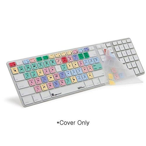 Apple Final Cut Pro 7 Keyboard Skin Cover - For Simpler and Faster Post-Production Facilities, Professional Video Editing.