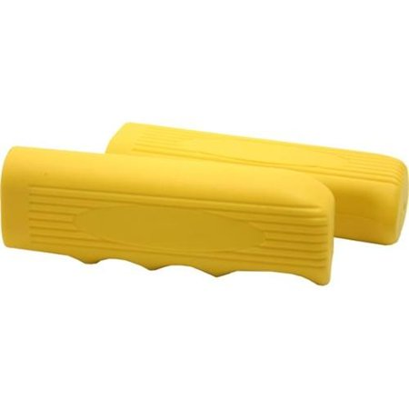 Yellow Beach Cruiser Handle Bar Grips For Bicycles Bike Parts (Bicycle Handle Grips)