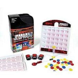 Espn Jeopardy Trivia Board Game In Folio by Pressman