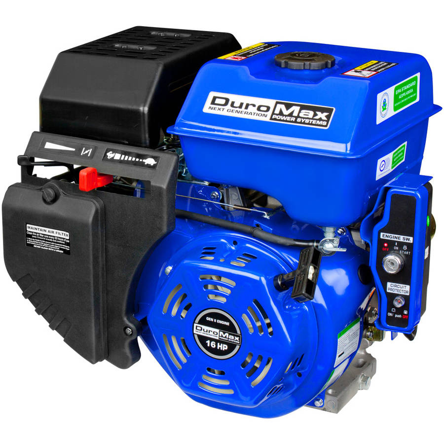 "DuroMax 16 Hp 1"" Shaft Electric/Recoil Start Engine"