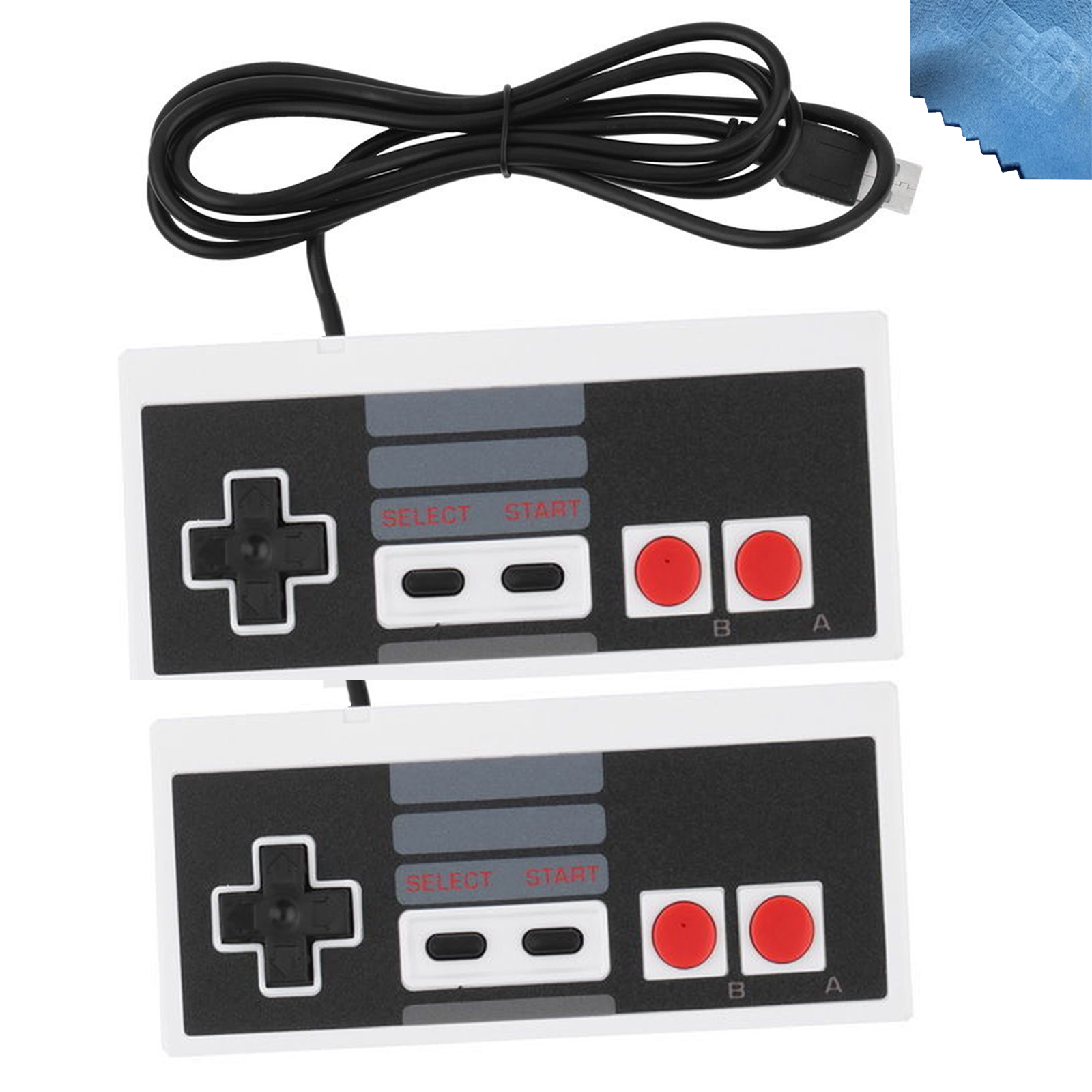 2 Pcs NES 8 Bit System USB Port Controller for PC Raspberry Pi (NOT For NES CLASSIC EDITION 2016)