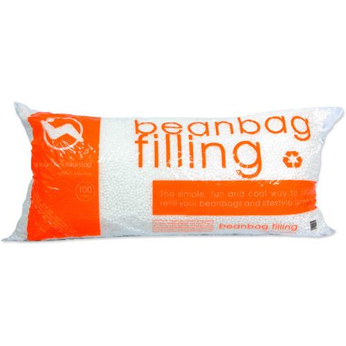 Popped Polystyrene Bean Bag Refill, 3.5 Cubic Feet