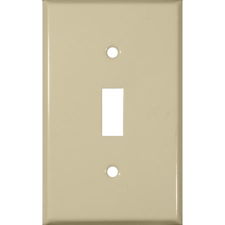 Morris Products 83013 Stainless Steel Metal Wall Plates 1 Gang Toggle Switch