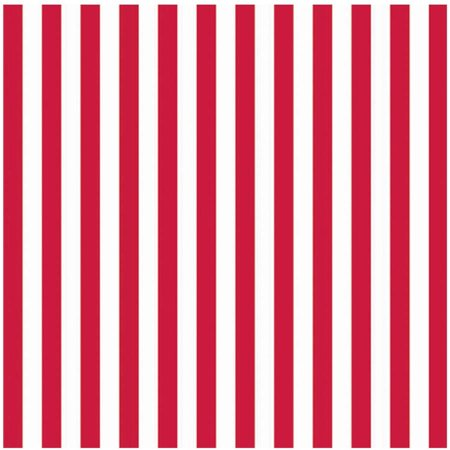 Red Stripe Jumbo Gift Wrap