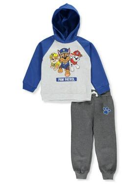 Paw Patrol Boys' Hero Trio 2-Piece Sweatsuit Pants Set