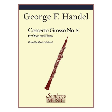 Southern Conc Grosso No 8 in B-Flat Southern Music by George Frideric Handel Arranged by Albert (Grosso Lavender)