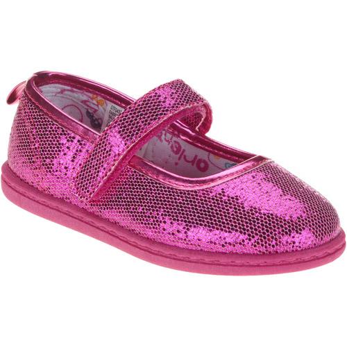 Faded Glory Glitter Mary-Jane Shoe