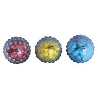 Sportime 4 Inch Grab-N-Balls, Set of 3, Assorted Primary Colors