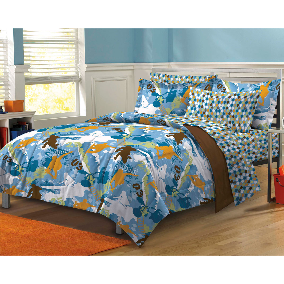 My Room Extreme Sports Complete Bed In A Bag Bedding Set   Walmart.com