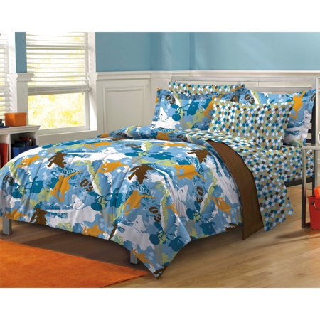 My Room Extreme Sports Complete Bed in a Bag Bedding Set