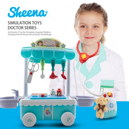 Outtop Doctor Kit Surgical Car with Music Children Play House Educational Role (Plays House Music)