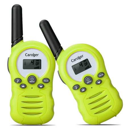 Walkie Talkies for Kids, 22 Channel Two Way Radio 3 Miles (up to 5Miles) Walkies Talkies , Long Range Wireless Handheld Mini Outdoor Camping Toys for Boys Girls( 1 Pair (Walkie Talkie Set)