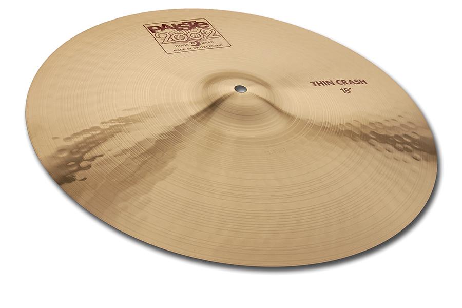 "Paiste 2002 Series 18"" Thin Crash Cymbal by Paiste GmbH & Co. KG"