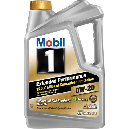 (3 Pack) Mobil 1 Extended Performance 0W-20 Full Synthetic Motor Oil, 5 (The Best Synthetic Motor Oil On The Market)