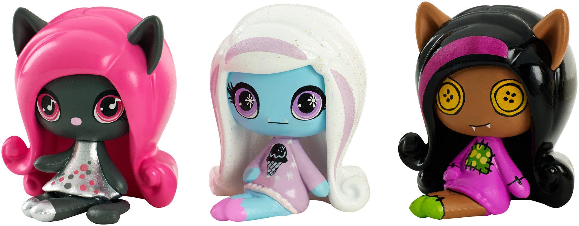 Monster High Minis Figure (3-Pack) by MATTEL INC.