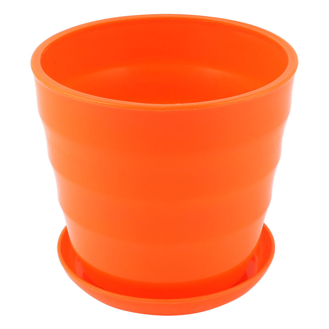 Product Image Home Garden Office Desk Plastic Round Plant Planter Flower Pot White 5 Inch Dia. Product Variants Selector. Orange  sc 1 st  Walmart & Orange Pots \u0026 Planters - Walmart.com