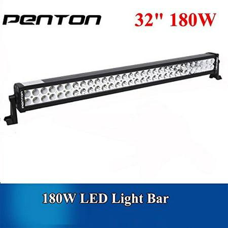 Penton® 180w 32 Inch 10v-30v Led Light Bar Work Lights Flood Spot Combo Beam for 4wd SUV UTE Offroad Truck ATV UTV ()