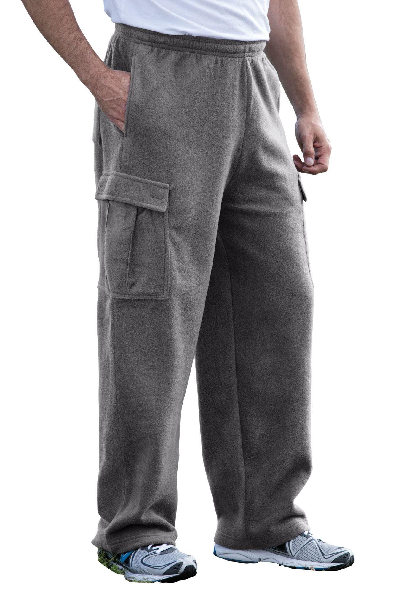 Men's Big & Tall Explorer Fleece Cargo Pants
