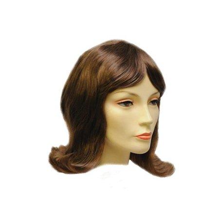 Lacey Wigs LW713BWT Flip 1960s Bargain Wig, Bright White - image 1 de 1