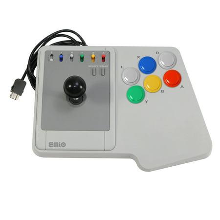 Emio The Edge Super Joystick for SNES Classic, NES Classic, Wii U, PC White