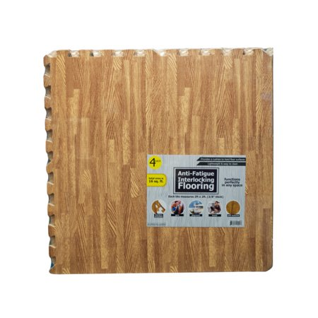 Anti-Fatigue Interlocking Flooring Set (Available in a pack of 1) Anti Fatigue Rectangular Floor