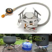 3500W Portable Gas Stove Butane Propane Burner For Outdoor Camping Hiking Picnic