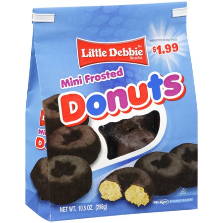 Walmart Chocolate Frosted Donut Mini