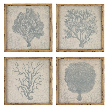 Sterling Art (Sterling Coral Prints Wall Art - Set of)
