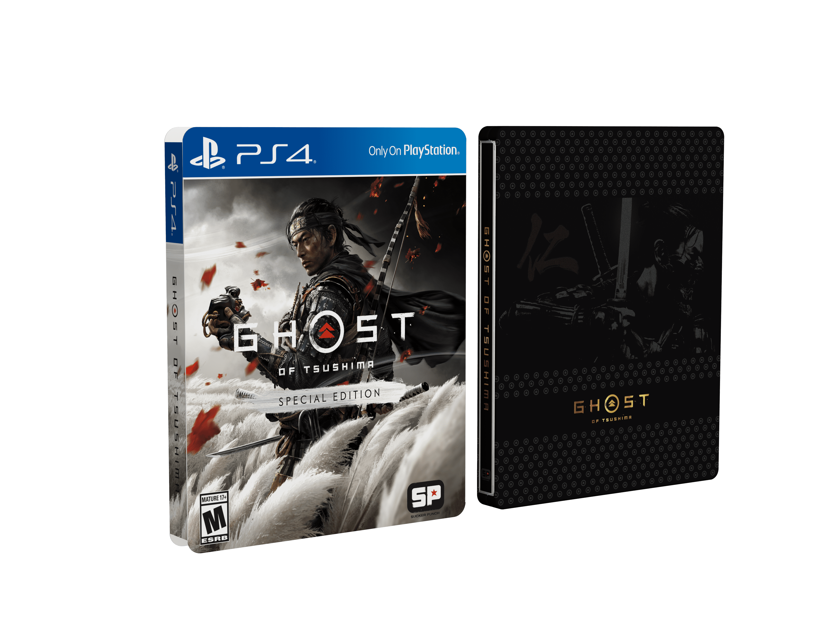 Ghost Of Tsushima Special Edition Sony Playstation 4 Walmart Com Walmart Com