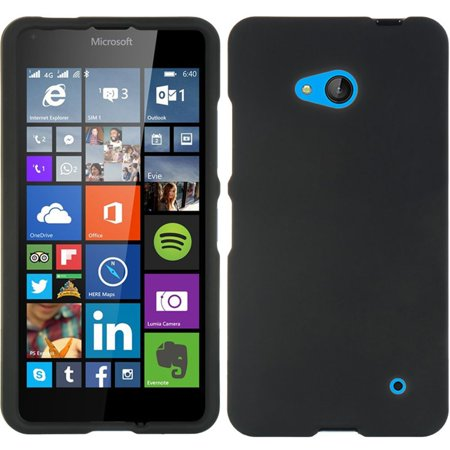 Insten Hard Crystal Rubber Skin Protective Shell Case For Microsoft Lumia 640 - Clear - image 3 de 3