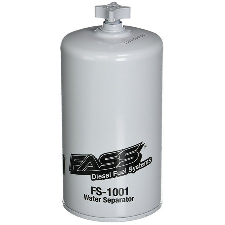 (FS-1001) HD Series Water Separator, The Fass FS-1001 is the Replacement  Diesel Fuel Filter for all Fass 150 Series Pumps / HD Series By Fass