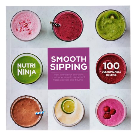 SharkNinja Smooth Sipping 100 Recipe Book for BL480 & BL490 Series IQ Blenders - Recipe For Dirt