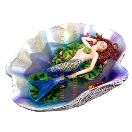 - Sheila Wolk Mermaid Swimming With Koi Fishes Elan Vital Sculpture Statue