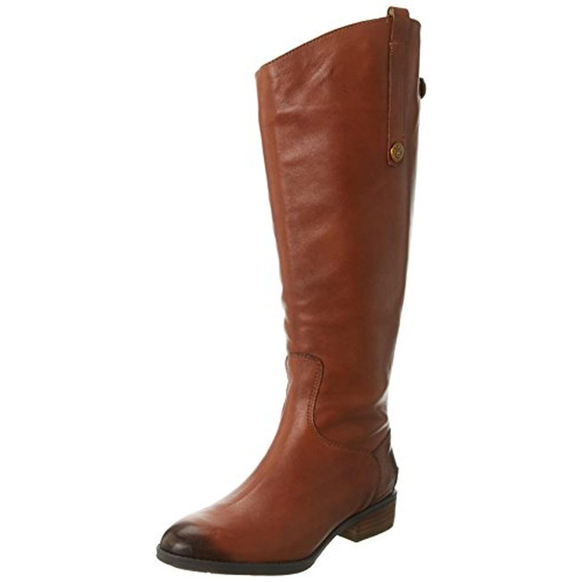 Sam Edelman Womens Penny 2 Wide Calf Leather Riding Boots