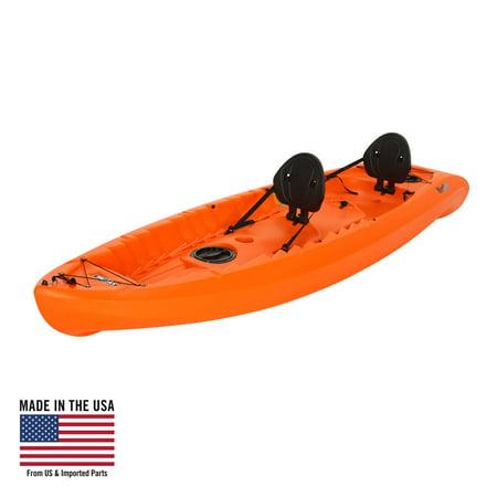 - Lifetime Kokanee 106 Tandem Kayak Orange, 90849