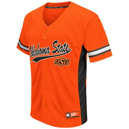State Baseball Jersey - Oklahoma State Cowboys NCAA
