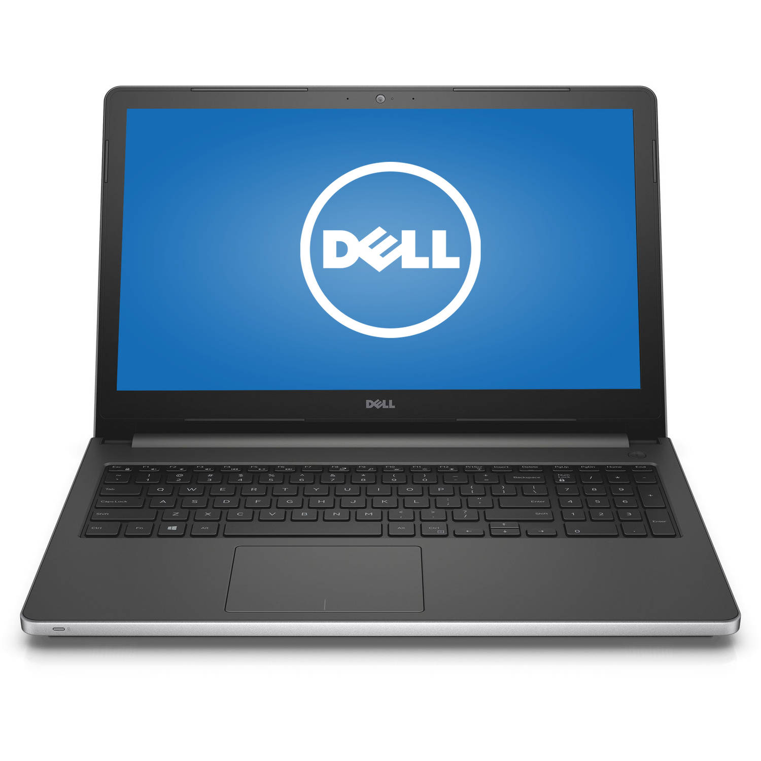 "Dell Silver 15.6"" Inspiron i5559 Laptop PC with Intel Core i5-6200U Processor, 8GB Memory, 1TB Hard Drive, touch screen and Windows 10 Home"