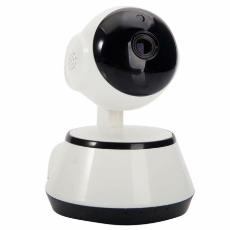 Indoor Wireless IP Camera - HD 720p Network Security Surveillance Home Monitoring w/ Motion Detection, Night Vision, 2 Way Audio White Home Network Monitoring