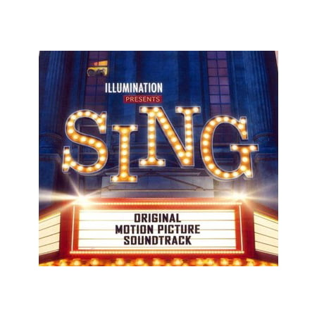 Sing (Original Motion Picture Soundtrack) (CD) (Halloween 1 Soundtrack 2017)