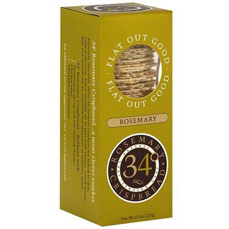 Image of 34 Degrees Rosemary Crispbread, 4.5 oz (Pack of 18)