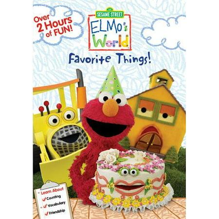 Sesame Street (Video): Elmo's World: Favorite Things! (Other)