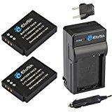 EforTek EN_EL12 Replacement Battery (2_Pack) and Charger ...