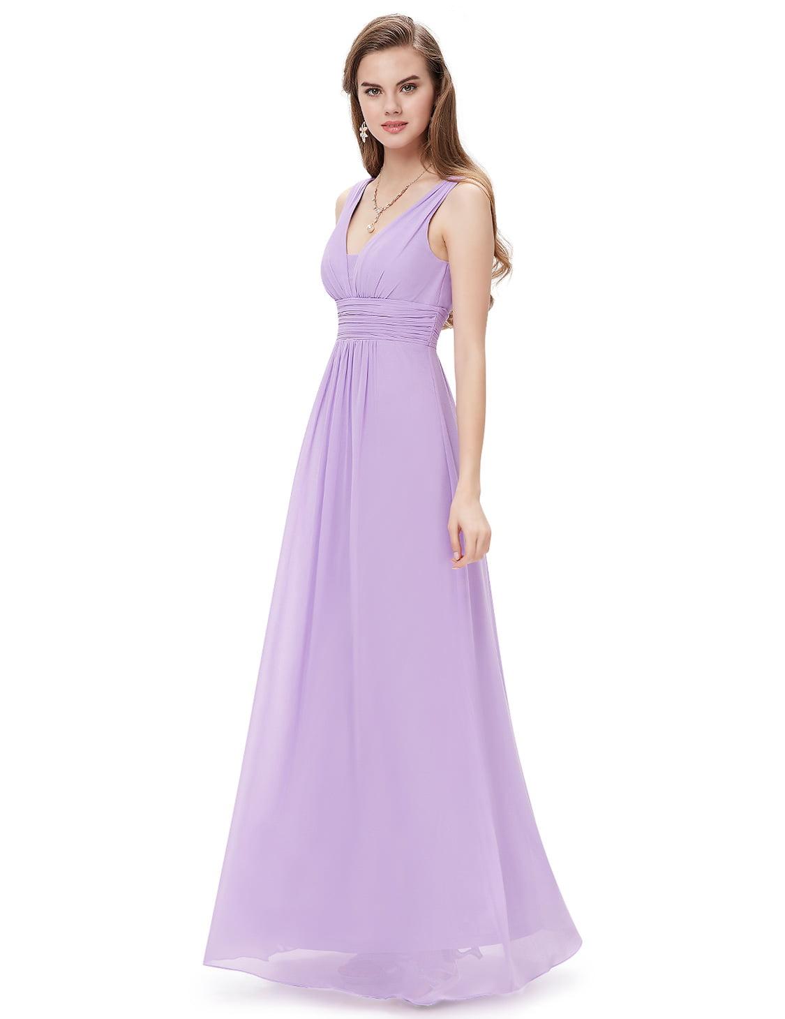 Ever-Pretty Women\'s Elegant Long V-Neck Evening Party Maxi Dress ...