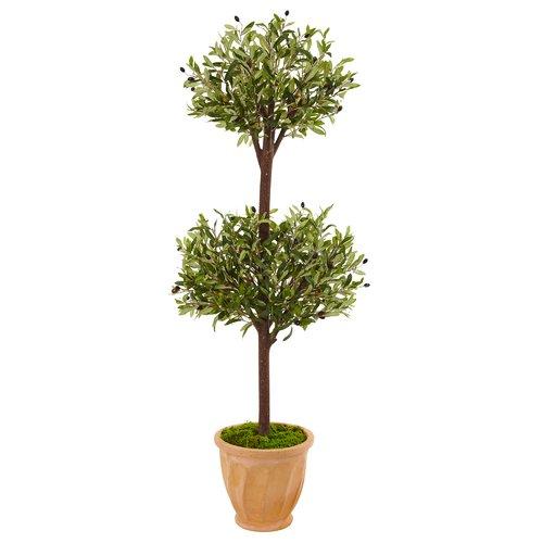 Marvel Fleur De Lis Living Artificial Olive Floor Foliage...