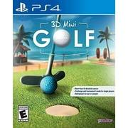 PS4 - 3D MINI GOLF