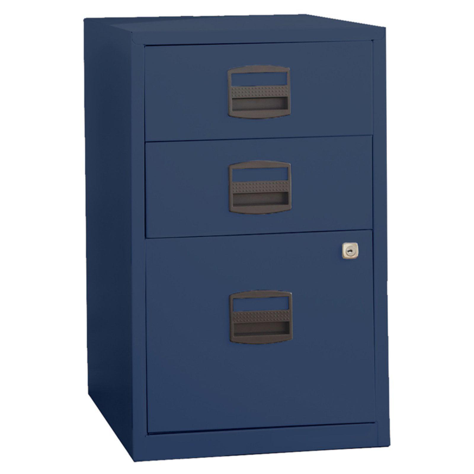 Bisley Three Drawer Steel Home or Office Filing Cabinet by Bindertek