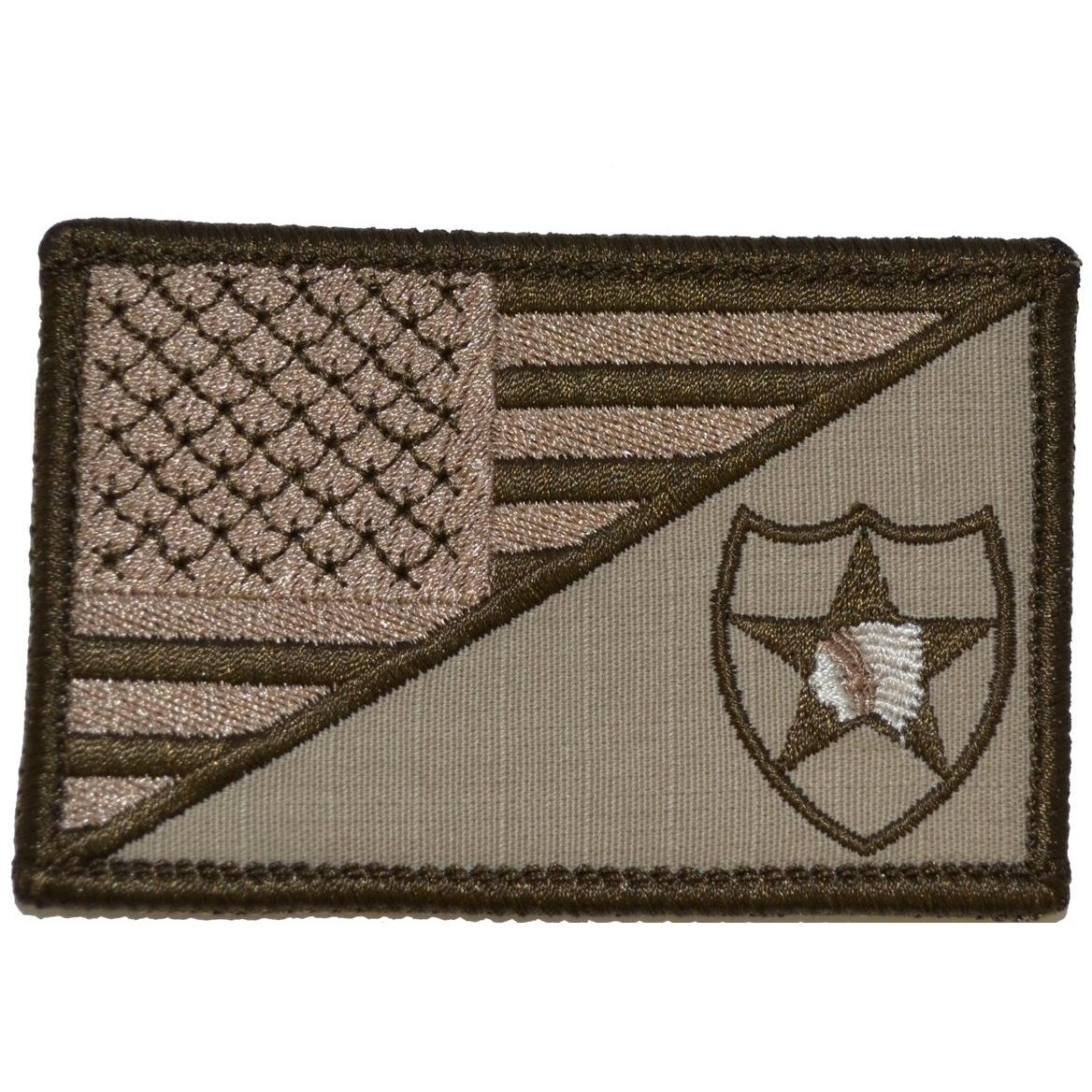 2nd Infantry Division USA Flag - 2.25x3.5 Patch