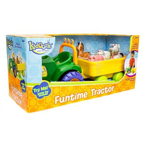 International Plaything Kidoozie Funtime Tractor by International Playthings